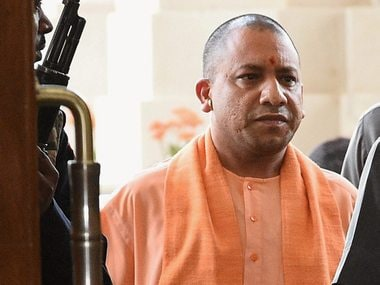 UP Chief Minister Yogi Adityanath. PTI
