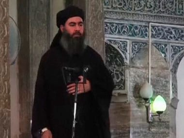 Islamic State chief Abu Bakr al-Baghdadi. Reuters