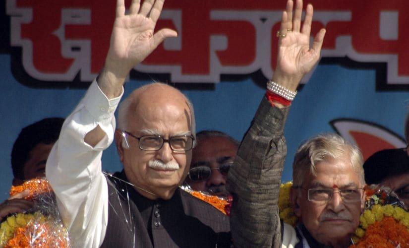 A file photo of LK Advani and Murli Manohar Joshi. Reuters