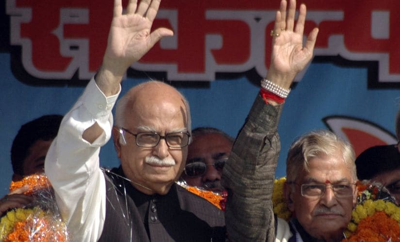 A file photo of senior BJP leaders LK Advani and Murli Manohar Joshi. Reuters
