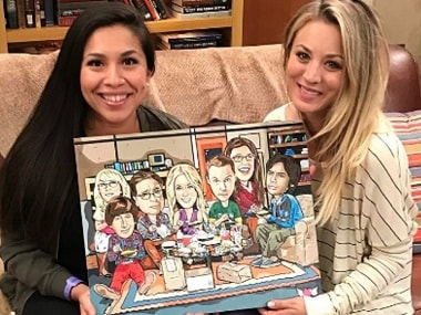 The Big Bang Theory: Kaley Cuoco gives sneak peak of season finale with this Instagram photo