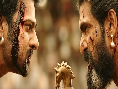 Prabhas and Rana Daggubati in a still from Baahubali 2: The Conclusion. YouTube
