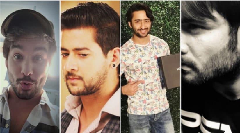 (L to R) Manish Goplani, Paras Arora, Shaheer Sheikh and Vivian Dsena