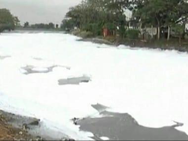 File image of Bellandur Lake. News18