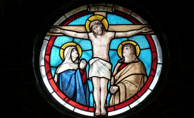 The crucifixion of Jesus Christ. Image from Pixabay