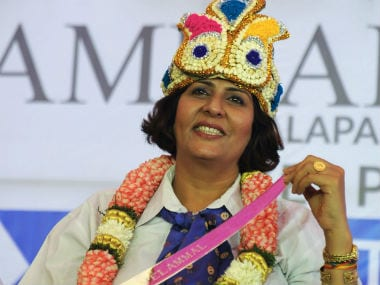 File photo of Deepa Malik. AFP