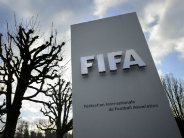 The two-member delegation comprising of FIFA consultant Nic Coward and Head of AFC-UEFA Affairs Alex Phillips. AFP