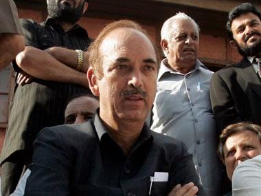 File image of Congress leader Ghulam Nabi Azad. Reuters
