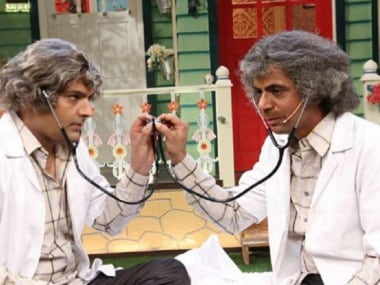 Kapil Sharma and Sunil Grover in an episode of 'The Kapil Sharma Show'