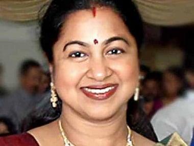 RK Nagar bypoll: Tamil actor Raadhika Sarathkumars office raided by the IT department