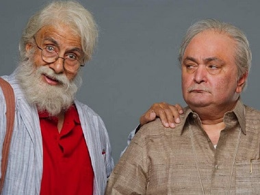 Amitabh Bachchan and Rishi Kapoor in 102 Not Out: An onscreen pair unlike any other