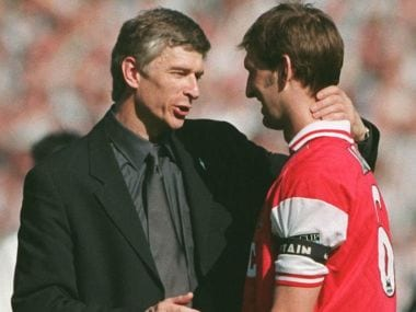 Arsenal legend Tony Adams says Arsene Wenger couldn't coach his way out of a paper bag in new book