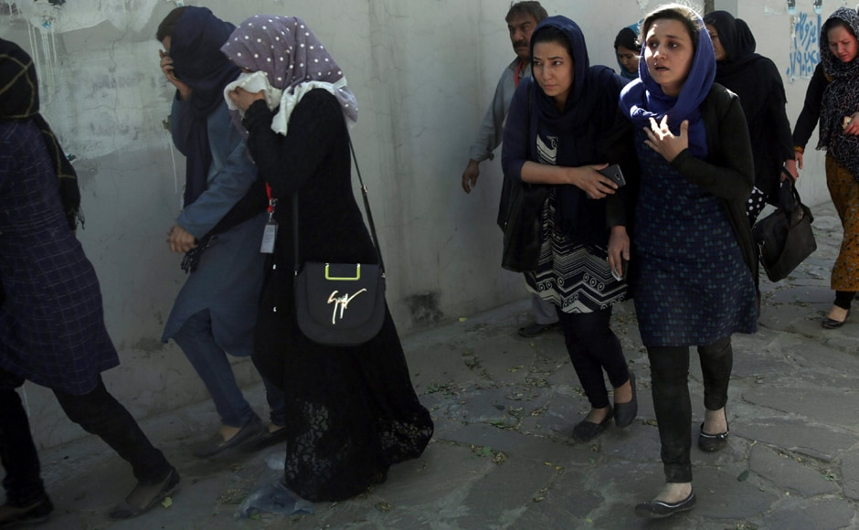 There was no immediate claim of responsibility. The Taliban -- currently in the midst of their annual