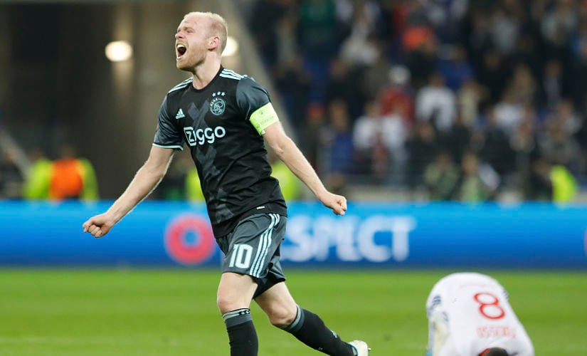 File photo of Ajax's Davy Klaassen. AP