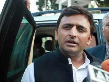 File image of Akhilesh Yadav. PTI