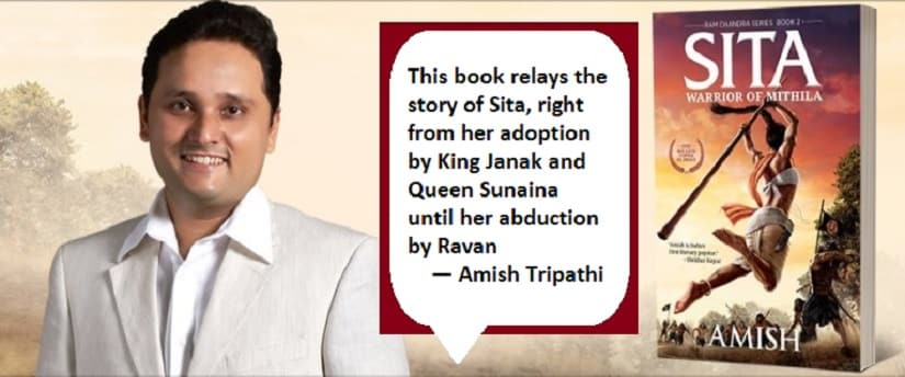 Amish, on his new book, Sita - The Warrior Princess of Mithila