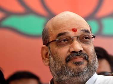 Amit Shah blames Congress for Kashmir problem, says NDA will bring situation under control