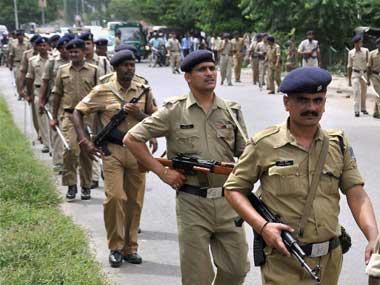 Representational image of Bihar police. PTI