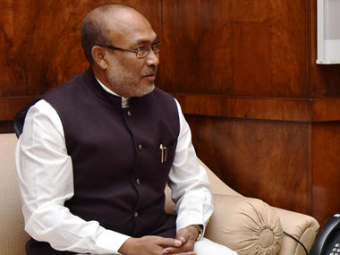File image of Manipur chief minister N Biren Singh. Image courtesy: PIB