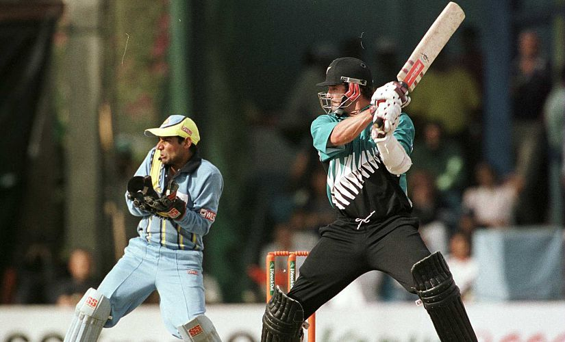 Despite being injured before the tournament and still not fully fit during it, Chris Cairns filled himself with painkillers and filled his boots with runs, not least in the final, where his century saw New Zealand overhaul India's 264 to take the title. Getty