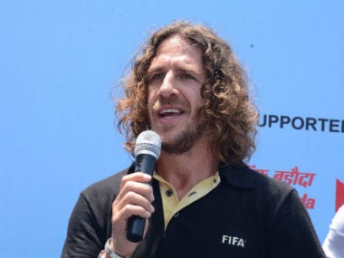 Cristiano Ronaldo one of the greatest but Lionel Messi better, says Carles Puyol at U-17 FIFA World Cup event