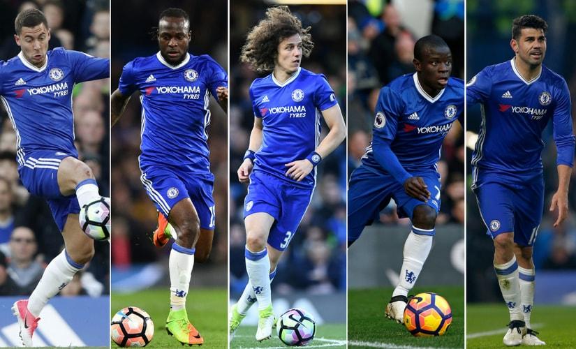 Premier League: Chelsea's big five who made Antonio Conte's 'impossible' dream come true