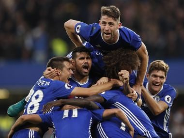 Chelsea won 13 league games on the trot after switching to a back three in defence. Reuters