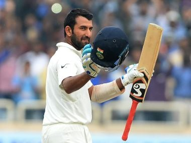 Cheteshwar Pujara emerged India's most prolific run-getter in the last Test season, amassing 1,371 runs at 51. AFP