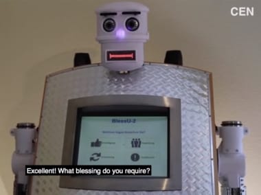 Meet BlessU-2: Unveiled to mark 500 years of Reformation, this robot priest will forgive your sins in five languages