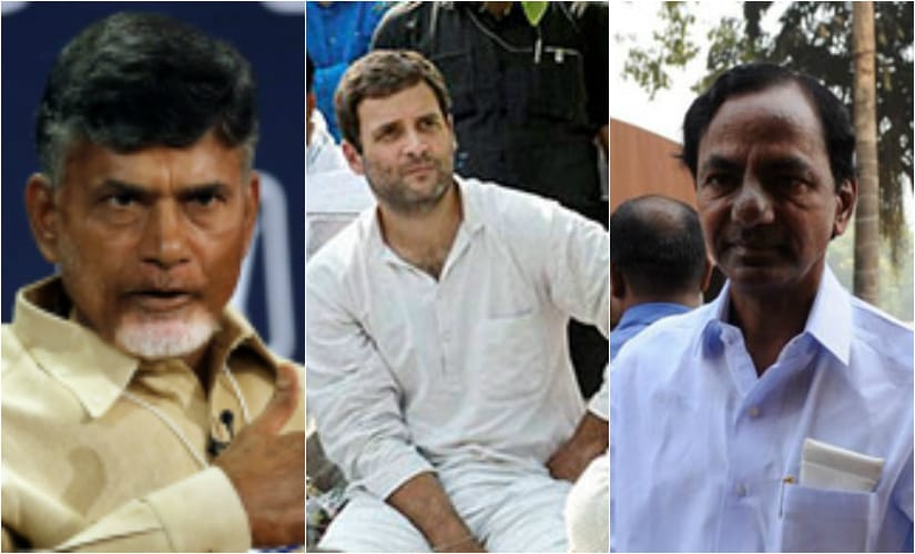 Will anti-Congress Telugu Desam Party ally with rival to checkmate K Chandrasekhar Rao in Telangana?