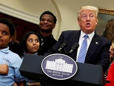 US President Donald Trump. AP