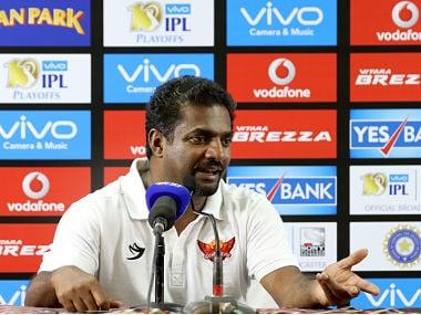 IPL 2017: SRH coach Muttiah Muralitharan insists team had a better chance against KKR if not for rain