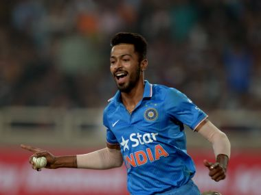 File image of India's all rounder Hardik Pandya. AFP