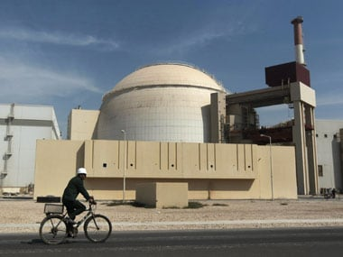 A nuclear plant in Iran. PTI