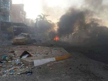 Four killed in bombing attack on Iraqi training camp, say officers