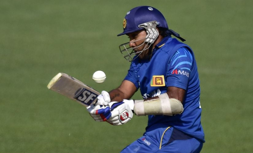 File picture of Mahela Jayawardene. AFP
