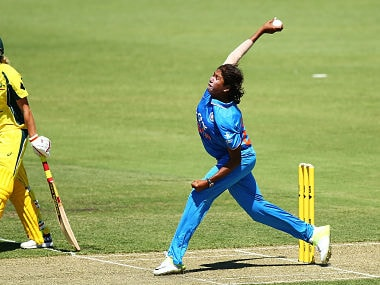 File photo of Jhulan Goswami. Getty Images