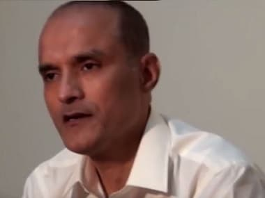 A screengrab of Kulbhushan Jadhav. Image courtesy: YouTube