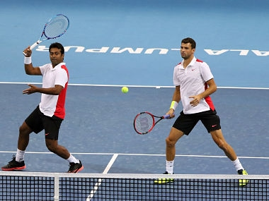 Geneva Open: Leander Paes-Scott Lipsky move to the second round after hard-fought win