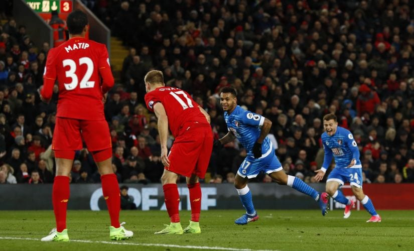 The 3-4 loss to Bournemouth displayed Liverpool's psychological and technical fragility . Reuters