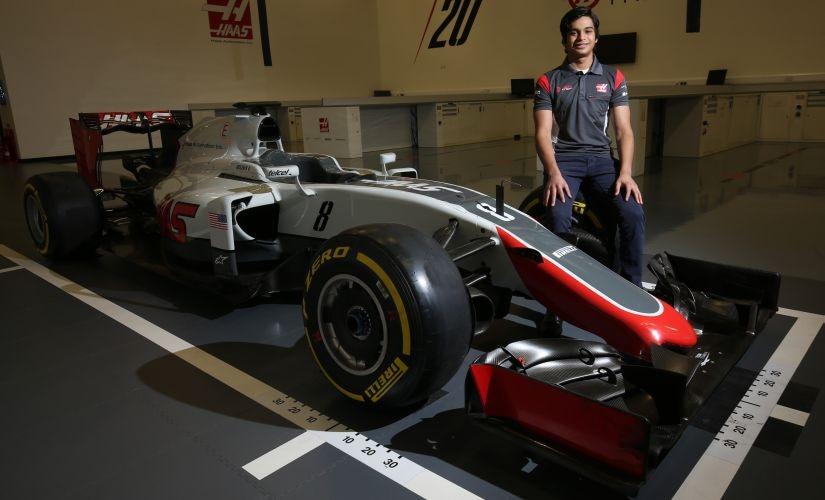 Maini. Image courtesy: Haas F1 Team