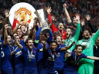 Europa League final: Manchester Uniteds Paul Pogba and Henrikh Mkhitaryan seal emotional title triumph