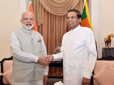 BBC apologises for 'mixing up' Narendra Modi with Sri Lankan President Maithripala Sirisena