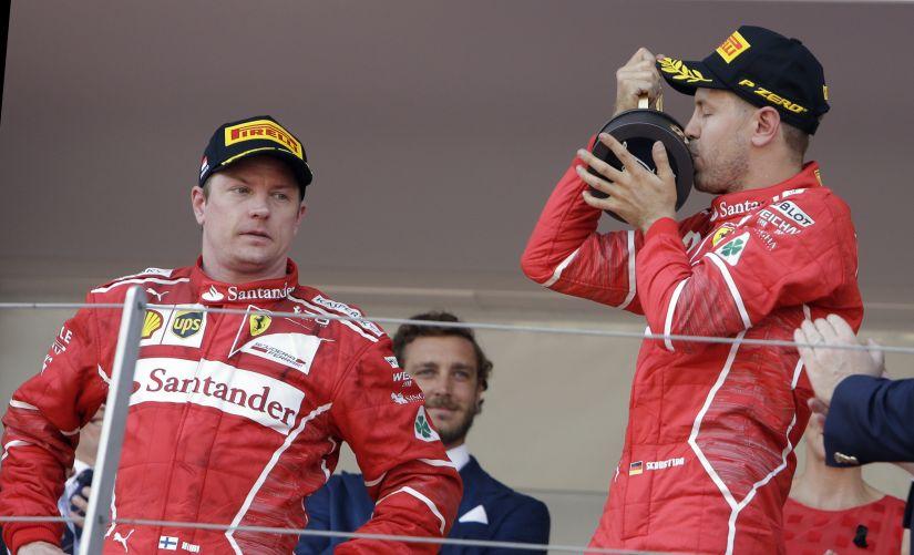 Monaco Grand Prix: Sebastian Vettel's charge to title for Ferrari one-two lights up a yawn-fest