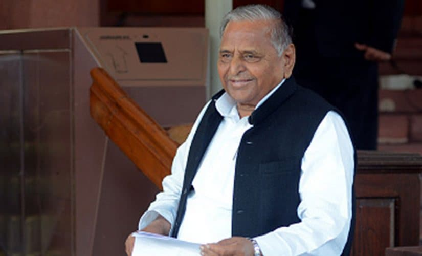 Mulayam Singh Yadav in a file image. Getty Images