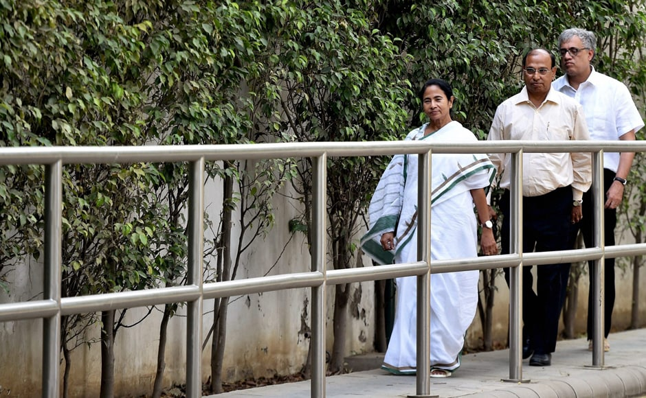 After the meeting, Banerjee reiterated the need for consensus on the issue.