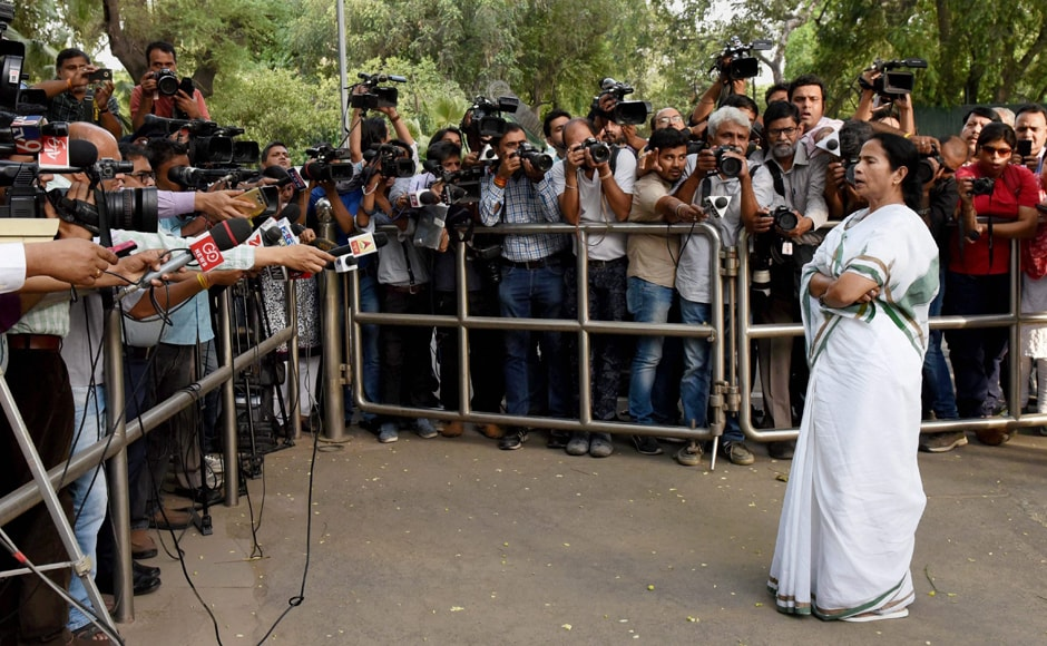 Even though Banerjee saidthat no names were discussed, <em>PTI</em> quoted sources as saying that Banerjee met with incumbent President Pranab Mukherjee late last night. This has added some weight to rumours that the two leaders may have discussed the possibility of persuading Mukherjee to seek a second term. PTI