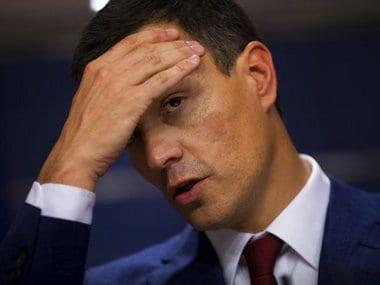 File image of Spain's Socialist Party leader Pedro Sanchez. AP