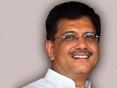 Union Power Minister Piyush Goyal . Image courtesy: piyushgoyal.in