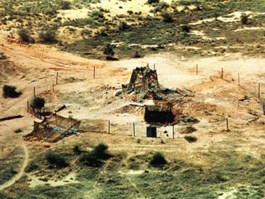 File image of the 1998 Pokhran nuclear test. Reuters